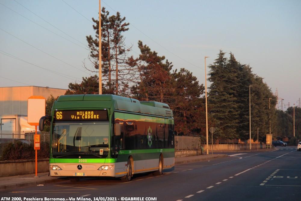 autobus mercedes citaro idrogeno atm 2000 milano linea 66