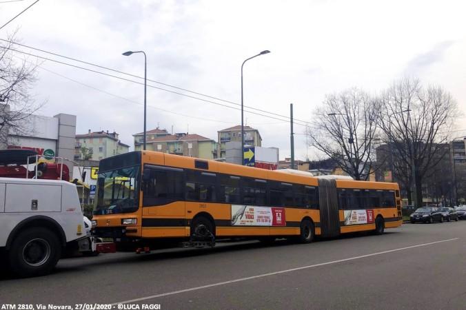 autobus cityclass atm 2810 milano linea 92