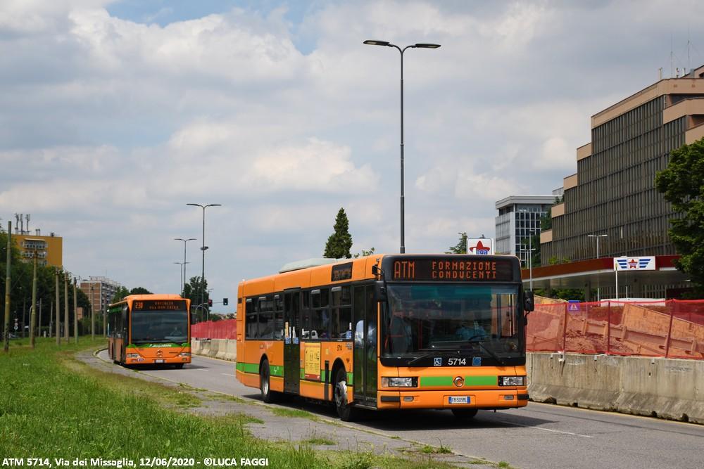 autobus cityclass atm 5714 milano formazione conducenti