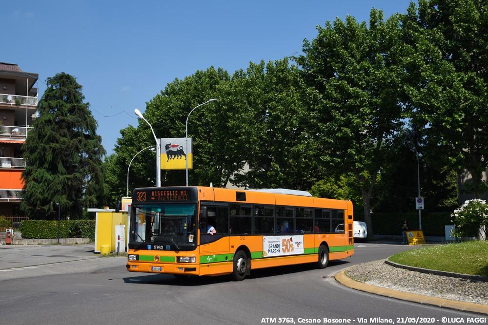 autobus cityclass atm 5763 milano linea 323