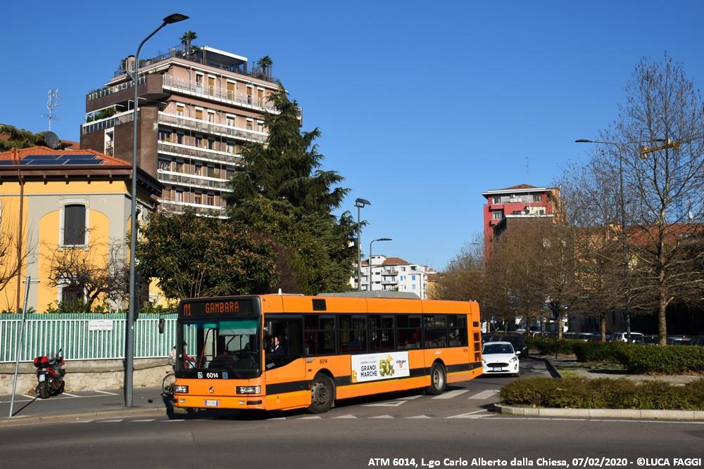 autobus cityclass atm 6014 milano collegamento