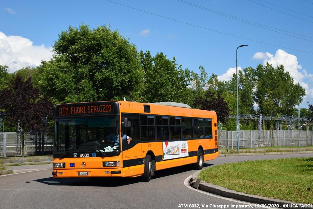 autobus cityclass atm 6032 milano