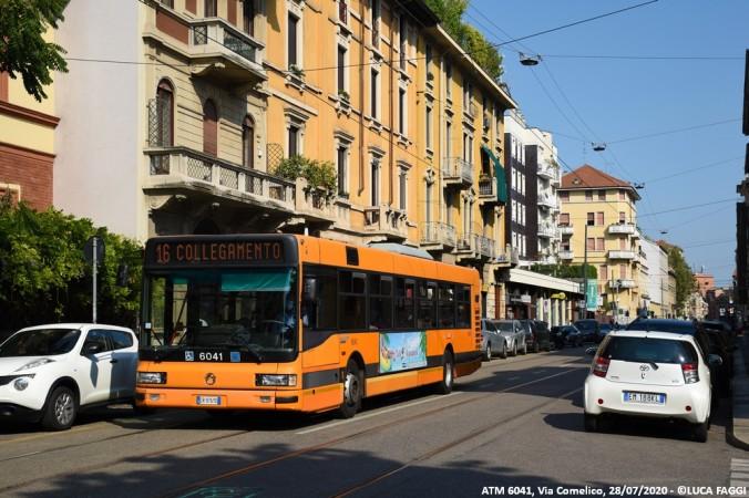 autobus cityclass atm 6041 milano collegamento