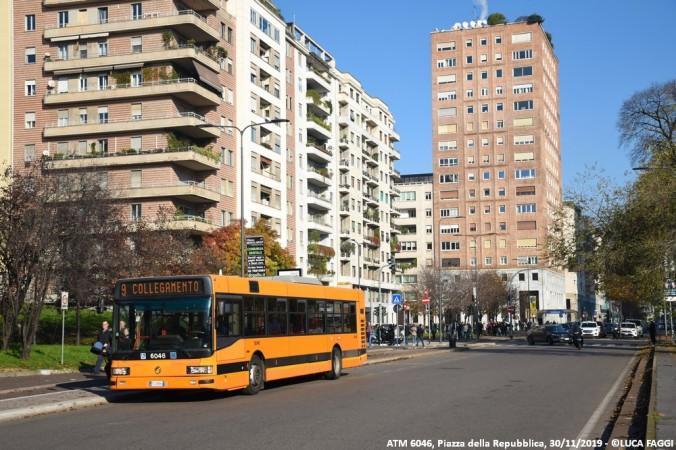 autobus cityclass atm 6046 milano collegamento