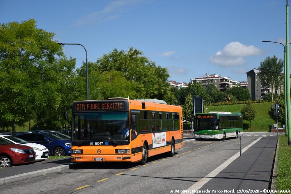 autobus cityclass atm 6047 milano linea 40