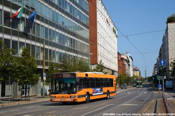 autobus cityclass atm 6060 milano linea 60