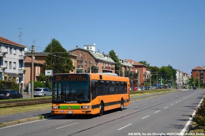 autobus cityclass atm autoguidovie 6078 milano linea 230