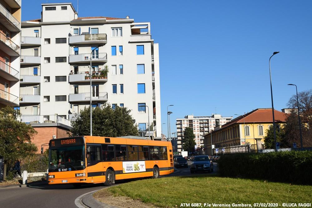 autobus cityclass atm 6087 milano linea M1 collegamento