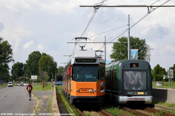 tram jumbotram atm milano 4959 linea 15